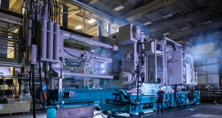 Larger Die Casting Machines – Body in White Production Innovation