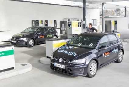 Renewable Fuel: Blue Gasoline by Bosch, Shell, and Volkswagen